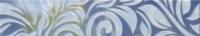 Керамическая плитка Gracia Ceramica Давос голубой бордюр