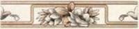 Керамическая плитка Kerama Marazzi Элегия светло-коричневый бордюр (F1725/6170)