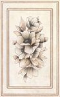 Керамическая плитка Kerama Marazzi Элегия светло-коричневый декор (F1727/6170)