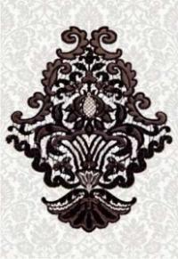 Керамическая плитка Керамин Органза 5 декор