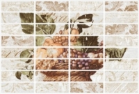 Керамическая плитка Керамин Прованс 2 декор Панно