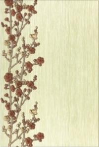 Керамическая плитка Керамин Сакура 3 декор веточки