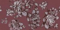 Керамическая плитка Нефрит Аллегро декор бордо