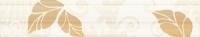 Керамическая плитка Нефрит Кензо коричневый бордюр