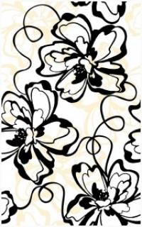 Керамическая плитка Нефрит Кураж2 монро декор