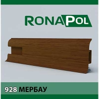 Пластиковый плинтус Ronapol Мербау