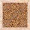 Керамическая плитка Нефрит Люкс коричневый напольная