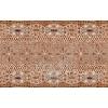 Керамическая плитка Нефрит Люкс коричневый декор