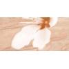 Керамическая плитка Нефрит Реноме бежевый декор цветок низ