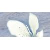 Керамическая плитка Нефрит Реноме голубой декор цветок верх
