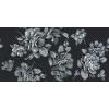 Керамическая плитка Нефрит Аллегро декор черный
