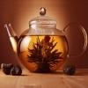 Керамическая плитка Нефрит Акварель декор чайник