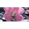 Керамическая плитка Нефрит Болеро декор орхидея тип 1