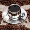 Керамическая плитка Нефрит Акварель декор кофе 1