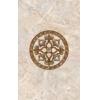 Керамическая плитка Нефрит Гермес светло-коричневый декор