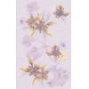 Керамическая плитка Нефрит Каприз лиловый декор