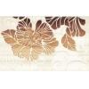 Керамическая плитка Нефрит Кензо коричневый декор 02
