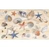 Керамическая плитка Нефрит Аликанте декор морские звезды