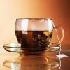 Керамическая плитка Нефрит Акварель декор чашка