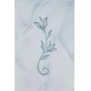 Керамическая плитка Шахтинская плитка София голубой тюльпан декор