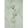 Керамическая плитка Шахтинская плитка София зеленый тюльпан декор