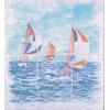 Керамическая плитка Сокол Бриз P348AR8 Панно яхты