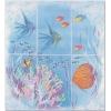 Керамическая плитка Сокол Бриз P403AR8 Панно рыбки