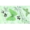 Керамическая плитка Сокол Баттерфляй Декор 612 еAR7 зеленый