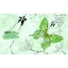 Керамическая плитка Сокол Баттерфляй Декор 612 вAR7 зеленый