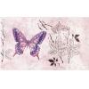 Керамическая плитка Сокол Баттерфляй Декор 613aAR3 розовый