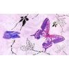 Керамическая плитка Сокол Баттерфляй Декор 613eAR3 розовый