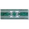 Керамическая плитка Сокол Уральские самоцветы Декор D340 AR7 зеленый