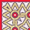 Керамический гранит Витра Medina уголок 45х45 см