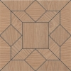 Керамогранит Kerama Marazzi Дартмут Декор мозаичный коричневый SG175/005 20х20