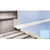Профиль для плитки CEZAR внутренний 7 мм голубой