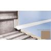 Профиль для плитки CEZAR внутренний 7 мм светло-коричневый