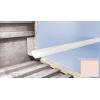 Профиль для плитки CEZAR внутренний 7 мм светло-розовый