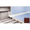 Профиль для плитки CEZAR внутренний 9 мм коричневый