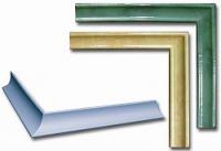 Керамический уголок-срез для плитки 3.5х20 Розовый