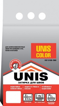 Затирка ЮНИС Color морская волна 2 кг