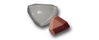 Керамическая звездочка для плитки 3.5 розовая